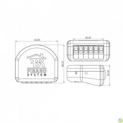 Micromodule Fibaro FGS213 - FGS213 - Fibaro