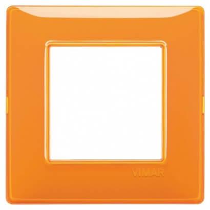 Plaque Plana 2M Reflex orange