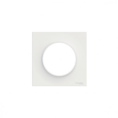 Plaque Simple Blanc Odace Styl