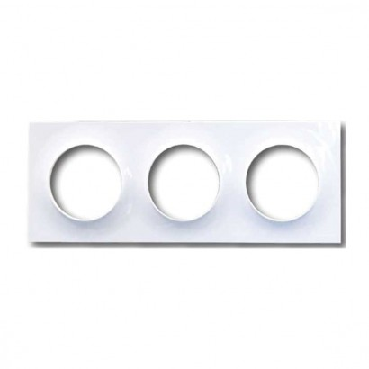 Plaque Simple Blanc Odace...